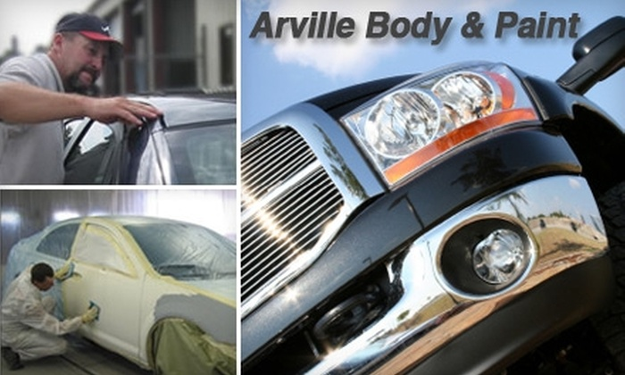 Arville Body & Paint - Paradise: $49 for $100 Worth of Car Services at Arville Body & Paint