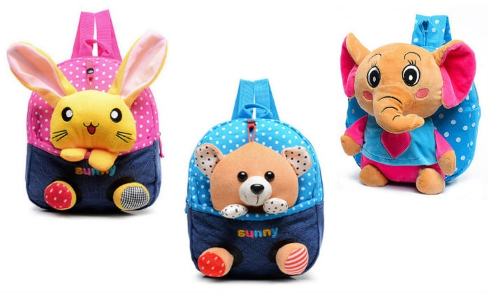 Groupon Goods: Plush Animal Backpack for Kids (Shipping Included)