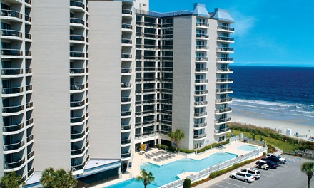 Stay at Carolina Winds in Myrtle Beach, SC. Dates into September.
