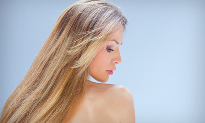 Vittoria Salon & Beauty Boutique - Cleveland Hill: Haircut with Optional Partial or Full Highlights at Vittoria Salon & Beauty Boutique in Cheektowaga (Up to 65% Off)