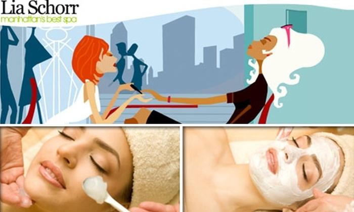 Lia Schorr - Midtown Center: $45 for a 75-Minute Deep-Pore-Cleansing Facial at Lia Schorr