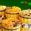 Half Off Gourmet Popcorn at POPtions!