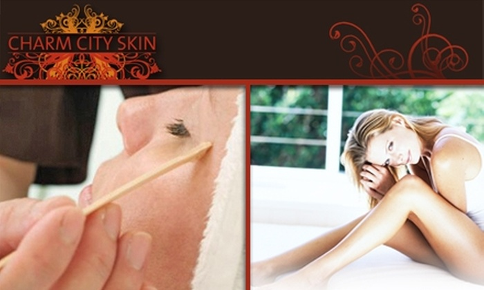 Charm City Skin - Hampden: $20 for $50 Worth of Waxing at Charm City Skin