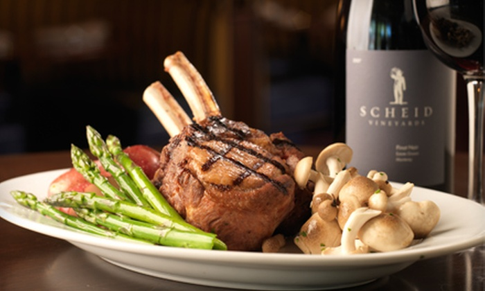 Jack's Restaurant and Lounge - Old Monterey Business District: $15 for $30 Worth of Seafood and Steaks at Jack's Restaurant and Lounge in the Portola Hotel & Spa at Monterey Bay in Monterey