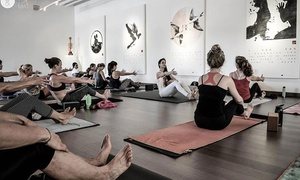 You and the Mat: $35 for 10 Yoga Classes at You and the Mat ($175 Value)