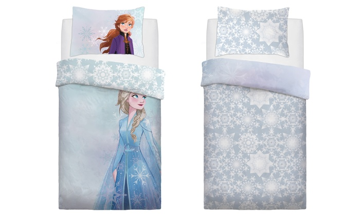 Copripiumino Matrimoniale Frozen.Parure Copripiumino Frozen 2 Disney Groupon Goods