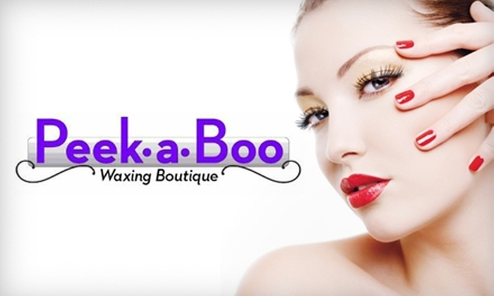 Peek-A-Boo Waxing Boutique - Vista: $59 for Champagne Beauty Package at Peek-a-Boo Waxing Boutique & Salon in Vista (Up to $180 Value)