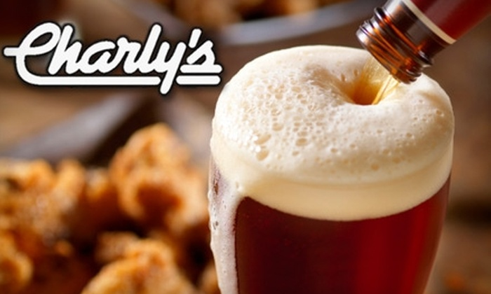 Charly's Brew Pub & Grill - Fontainbleu: $10 For $20 Worth of Food and Drinks at Charly's Brew Pub & Grill