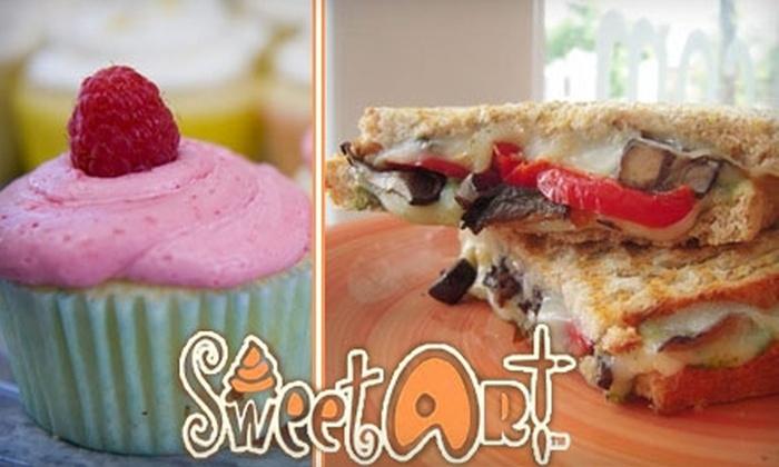 SweetArt - Shaw: $9 for $18 Worth of Eats and Sweet Treats at SweetArt