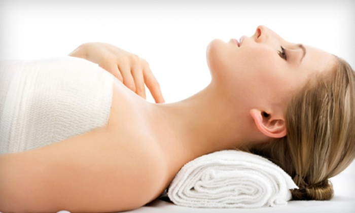 Ousia Day Spa - Highway 97: Universal Contour Wrap or Wrap and Facial Package at Ousia Day Spa