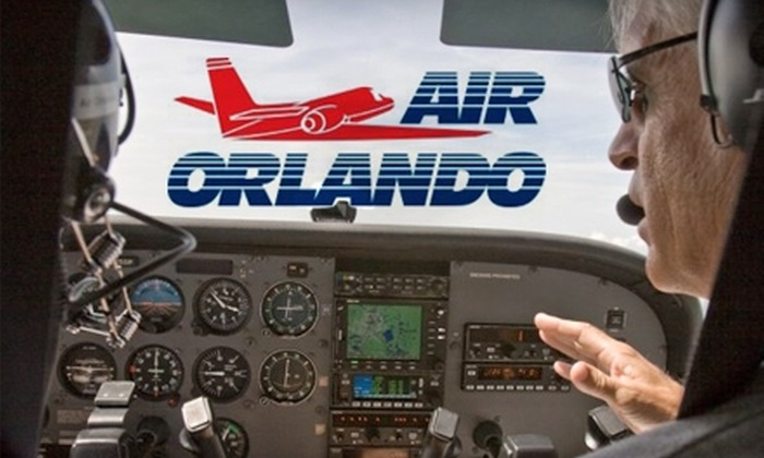 Air Orlando Aviation - East Central Park: $99 for a Discovery Flight in an Airplane or Helicopter at Air Orlando Aviation