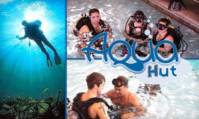 Aqua Hut - Reynolds Corners: $12 for a One-Hour Introductory Scuba-Diving Lesson at Aqua Hut ($25 Value)