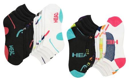 Head Women's No-Show Moisture-Wicking Socks (20-Pack)