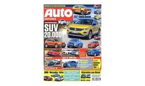 """Eventus Media GmbH: Jahres-Abo (25 Ausgaben) der Zeitschrift """"Auto Zeitung"""" (88% sparen*)"""