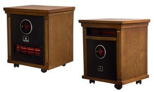 Smithfield 1,500-Watt Infrared Quartz Portable Heaters with Display
