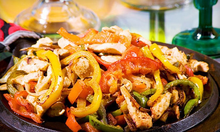 El Señor Sol - Jefferson Park: Fajita Dinner for Two or Four with Margaritas or $12 for $25 Worth of Mexican Fare at El Señor Sol