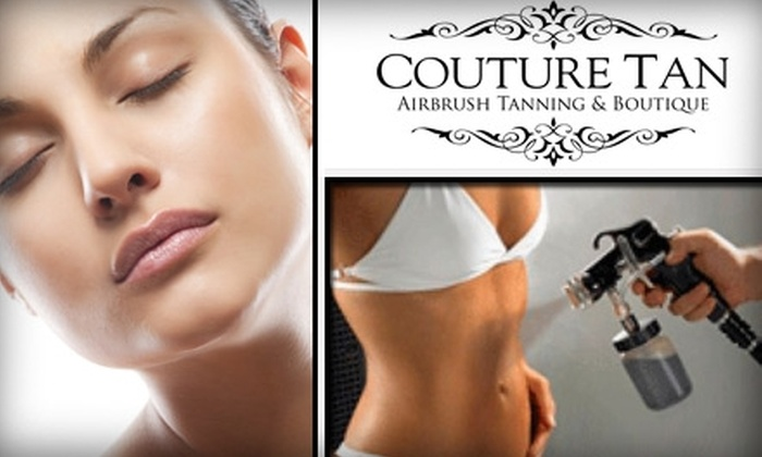 Couture Tan - Campbell: $15 Personalized Airbrush Spray Tan at Couture Tan