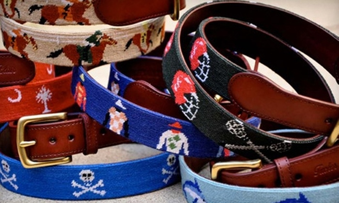 Tucker Blair: $30 for $70 Toward Designer Belts from Tucker Blair