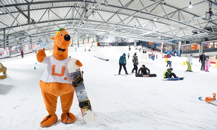 De Uithof: 2 uur skiën of snowboarden voor 1 volwassene of 1 kind in Den Haag