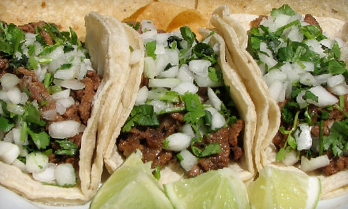 Chronic Tacos - Kitsilano: $8 for a Taco Combo Meal for Two with Chips and Salsa and Drinks at Chronic Tacos ($16.16 Value)