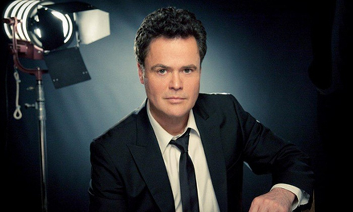 """Donny Osmond - Wallingford: One Ticket to See """"Donny – Basically Yours: A Special Evening with Donny Osmond"""" at Toyota Presents Oakdale Theatre in Wallingford on August 24"""