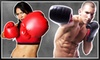 iLoveKickboxing.com (Corporate Account) - Harris Hill: 4 or 10 Kickboxing Classes with 40-Minute Personal-Training Session and Pair of Boxing Gloves at iLoveKickboxing.com (Up to 74% Off)