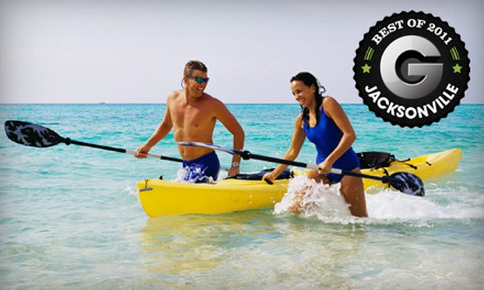 Cast and Cruise Boat and Sport - Magnolia: Rental of Single or Tandem Kayak or Power Boat from Cast and Cruise Boat and Sport in St. Augustine (Up to 57% Off)