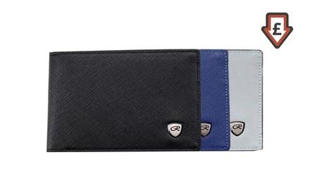 Men's Faux Leather Wallet