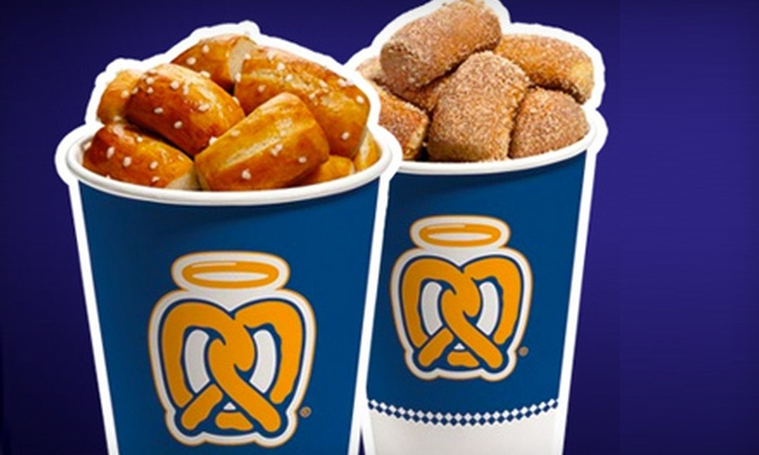 Auntie Anne's - Downtown Chapel Hill: $5 for $10 Worth of Hand-Rolled Pretzels at Auntie Anne's in Chapel Hill