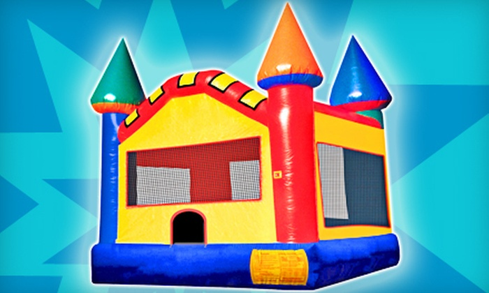 Supreme Bouncers - Columbia: Standard-, Advanced-, or Premium-Sized Bounce-House Rental for Four Hours from Supreme Bouncers (Half Off)