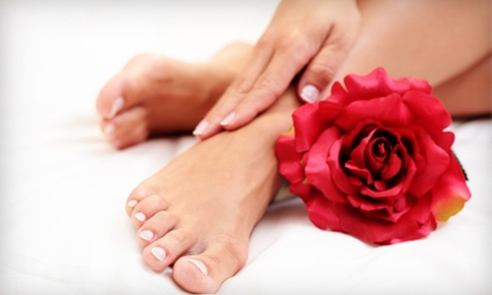 Cheveux Hair Salon - South Bend: $35 for a Spa Manicure and Pedicure at Cheveux Hair Salon ($70 Value)