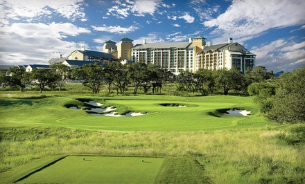 1-Night Stay for Up to 4 in a Guest Room With 1 Day of Unlimited Golf for 2 - JW Marriott & TPC San Antonio in San Antonio