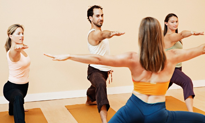 Hot Yoga at the Edge - Puyallup: $39 for One Month of Unlimited Hot-Yoga Classes at Hot Yoga at the Edge in Puyallup ($125 Value)