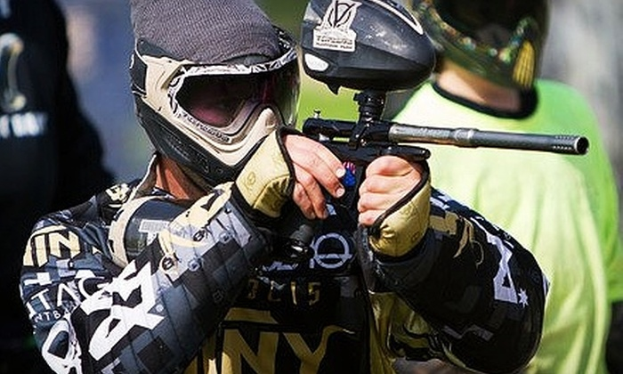 Vintage Paintball Park - Minneapolis / St Paul: $20 for Admission and Gear Rental at Vintage Paintball Park in River Falls ($40 Total Value)