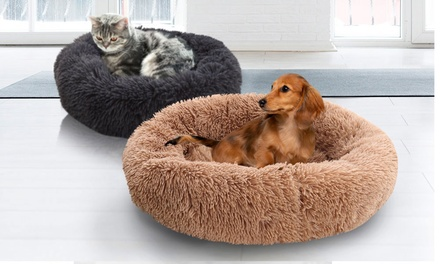 From $23 for a Donut-Shaped Pet Calming Bed (Don't Pay up to $89.99)