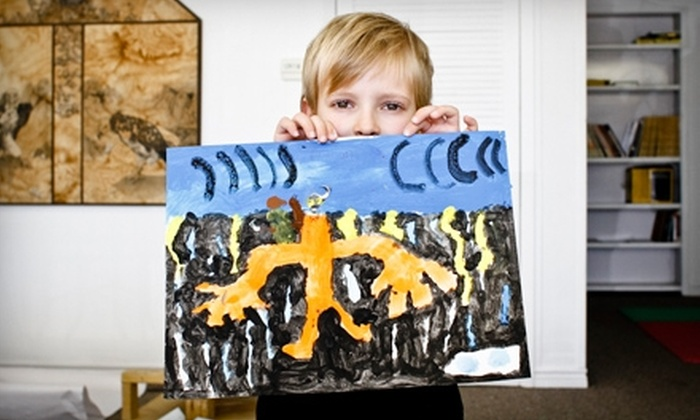 Soda Tooth Contemporary Art Studios and Gallery - Coers: $37 for a Kids' Art Class at Soda Tooth Contemporary Art Studios and Gallery in San Marcos (Up to $75 Value)