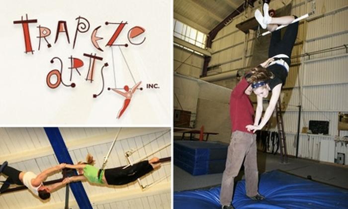Trapeze Arts - Prescott: $25 for a Flying Trapeze Class at Trapeze Arts ($40 Value)