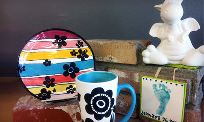 Firefly Ceramics - San Buenaventura (Ventura): $12 for $25 Worth of Paint-Your-Own Pottery at Firefly Ceramics