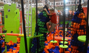 Up to 67% Off All-Day Jump Pass at Mega Jump Trampoline Park at Mega Jump Trampoline Park, plus 6.0% Cash Back from Ebates.