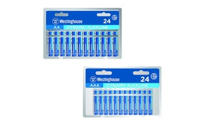 Westinghouse Alkaline AA and AAA Batteries (48-Pack)