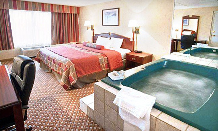 Clarion Hotel and Conference Center - Ann Arbor: $99 for a One-Night Jacuzzi-Room Romance Package for Two at Clarion Hotel and Conference Center in Ann Arbor ($202.99 Value)
