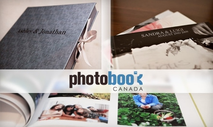 Photobook Canada: $37 for $115 Worth of Keepsake Books from Photobook Canada