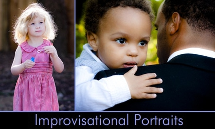 Improvisational Portraits - Washington DC: $45 for a One-Hour Photo Session and 20 High-Resolution Edited Images on a CD from Improvisational Portraits ($90 Value)