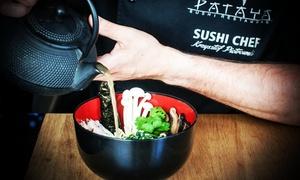 Restauracja Sushi Pataya : Uczta dla 2 osób z zupą ramen, pierożkami wonton za 59,99 zł i więcej opcji w Restauracji Sushi Pataya w Katowicach