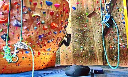 Day Pass or Climbing Membership at Nevada Climbing Center (Up to 55% Off). Five Options Available.