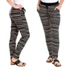 Women's Aztec Printed Jogger Pants