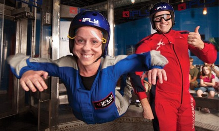 iFLY Orlando - Orlando: $75 for a Two-Flight Indoor-Skydiving Package for Two with DVD at iFLY Orlando ($169.80 Value)