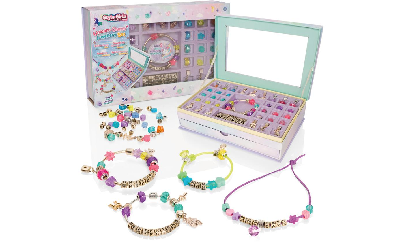Unicorn Charm Jewellery Making Set