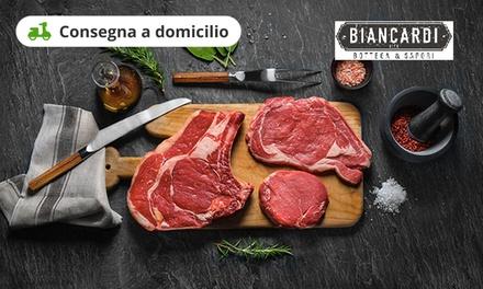 Buono da 40€ per acquisto di carne a domicilio a 0€euro