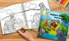 Dinkleboo: One or Two Hard- or Soft-Cover Personalized Children's Coloring Book from Dinkleboo (Up to 68% Off)